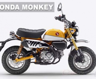 Gambar Motor Mini Honda Monkey