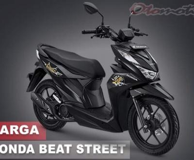 Gambar Motor Beat Street 2020