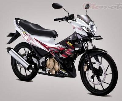 Sejarah Suzuki Satria FU di Indonesia