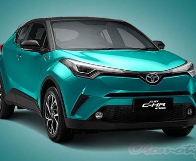 Spesifikasi dan Harga Toyota C-HR Hybrid